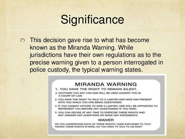 miranda v arizona essay help