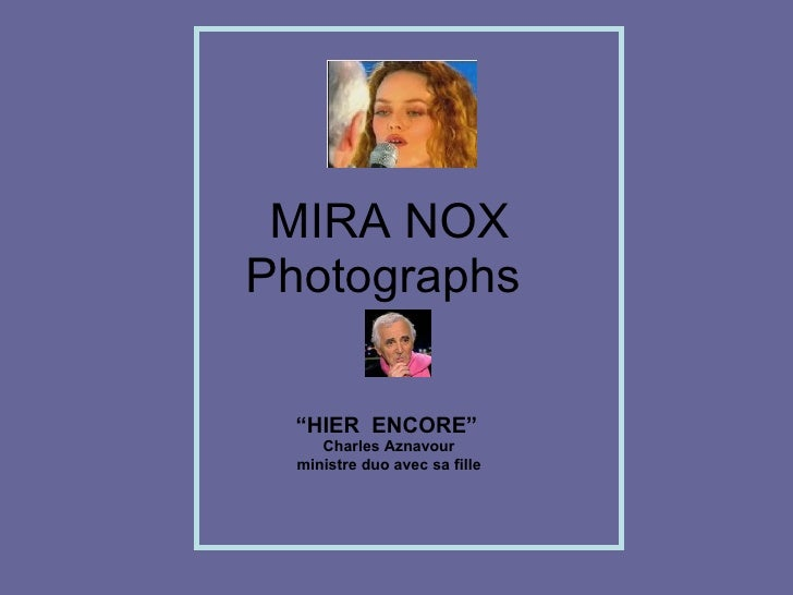 Mira Nox Photographs