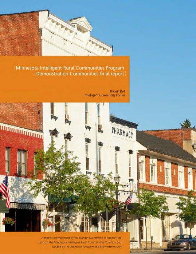 Minnesota Intelligent Rural Communities
