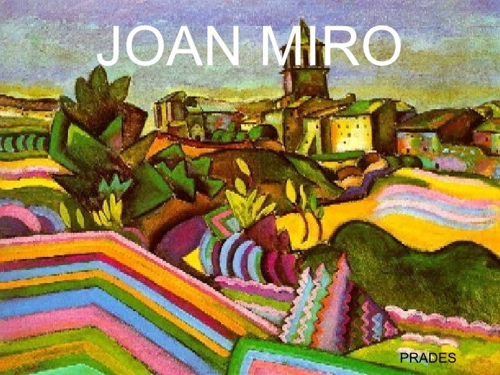 JOAN MIRO PRADES