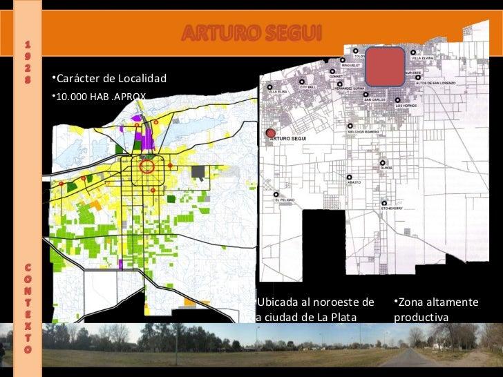 ARTURO SEGUI <ul><li>Carácter de Localidad </li></ul><ul><li>10.000 HAB .APROX </li></ul><ul><li>Zona altamente  </li></ul...