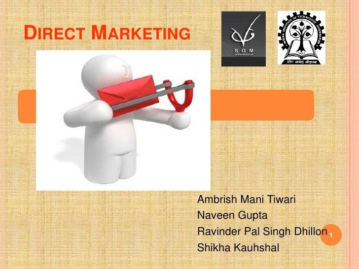 Direct Marketing -MIS Presentation