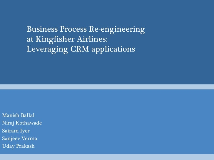 Managing Information Systems- CRM applications primer