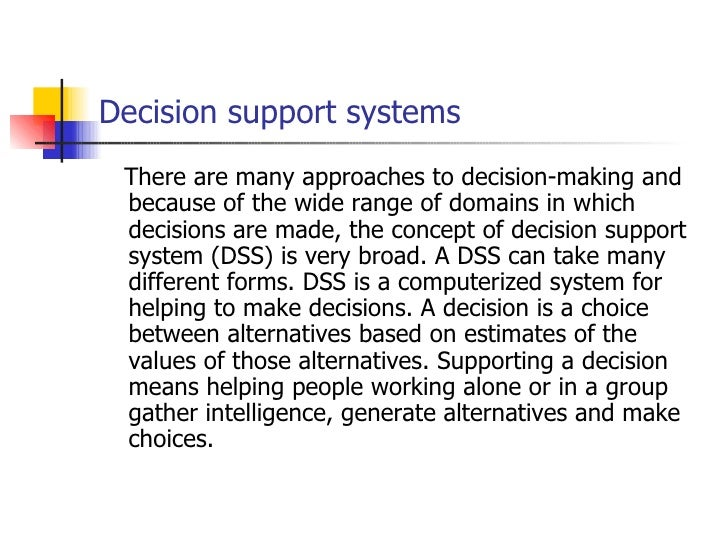 decision support system case study Elsa farto elsafarto@cgdpt sogrupo-si – caixa geral de depósitos group the balanced scorecard and decision support system – case study.