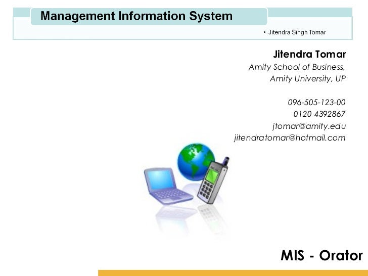 Management Information System 2