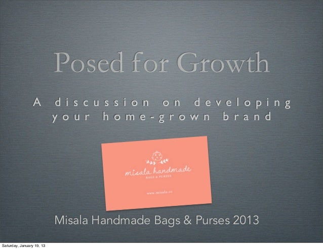 Misala: developing your homegrown brand