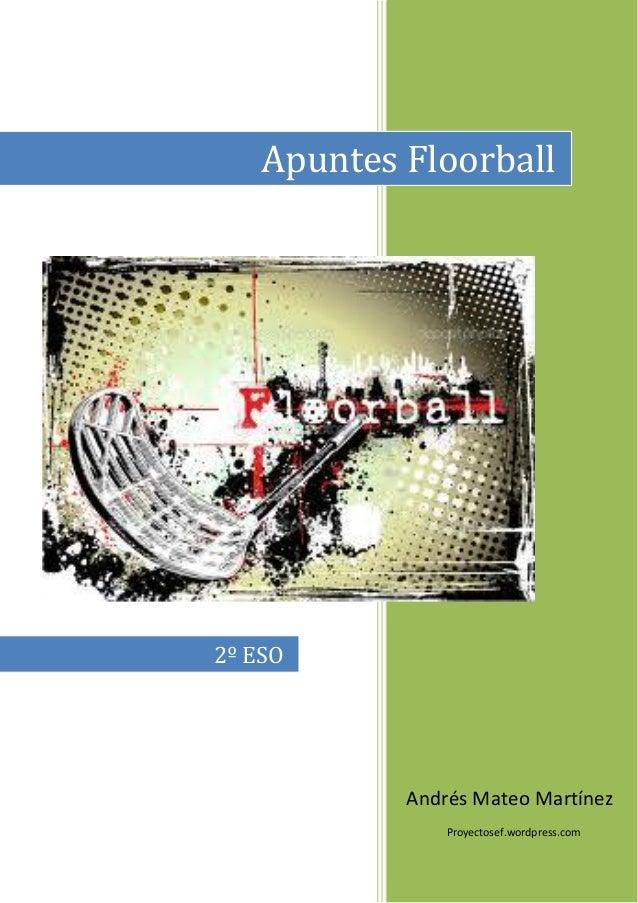 Apuntes Floorball2º ESO            Andrés Mateo Martínez                Proyectosef.wordpress.com