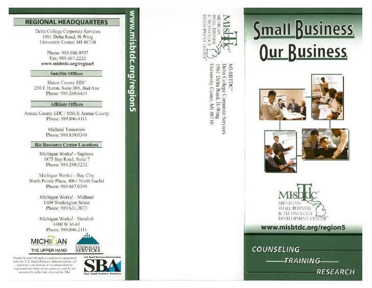 MI-SBTDC Brochure