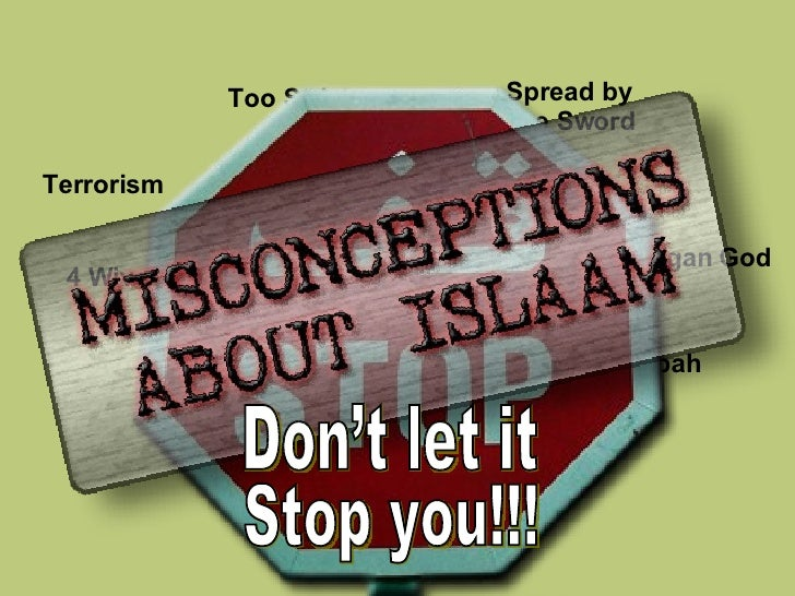 Spread by  the Sword Too Strict Terrorism 4 Wives Hijaab ISLAAM The Ka'abah Actions  of  Muslims Pagan God Don't let it St...