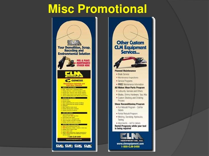 Misc Promotional<br />
