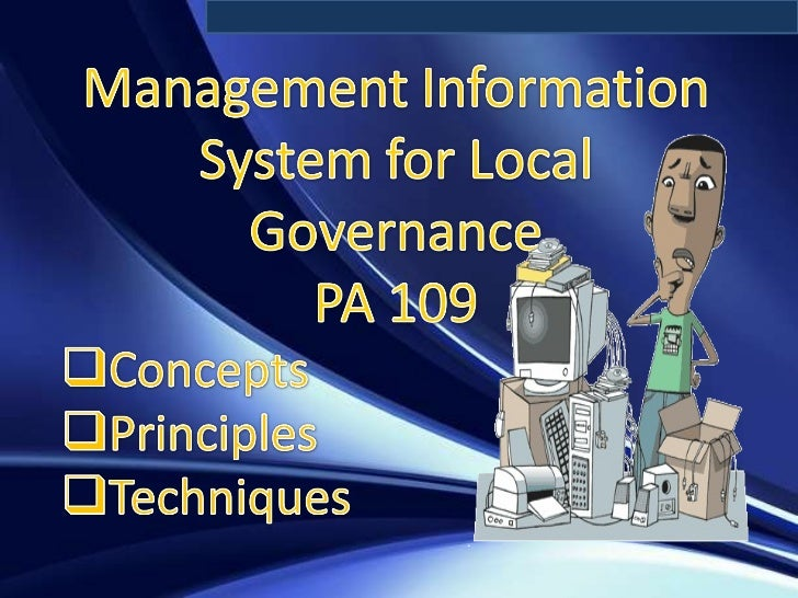 MIS  for Local Governance
