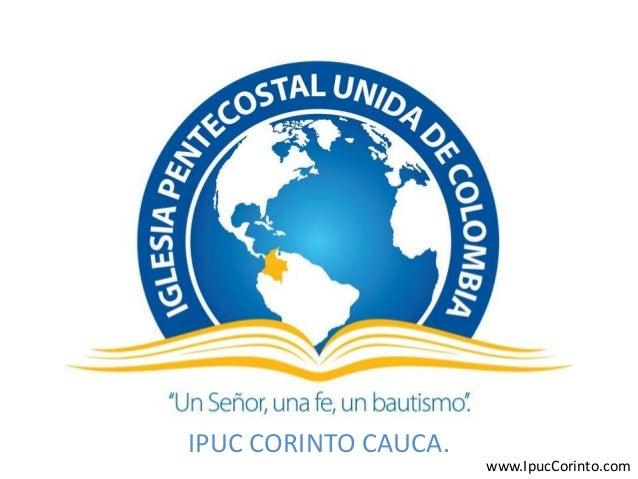 Mision iglesia pentecostal unida de colombia