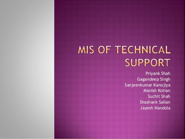 Technical Support Helpdesk