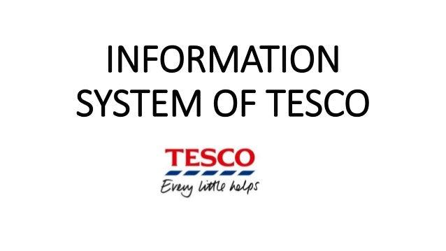 tesco marketing information system Management information systems in tesco information overview of marketing management information systems of management information systems in tesco plc.