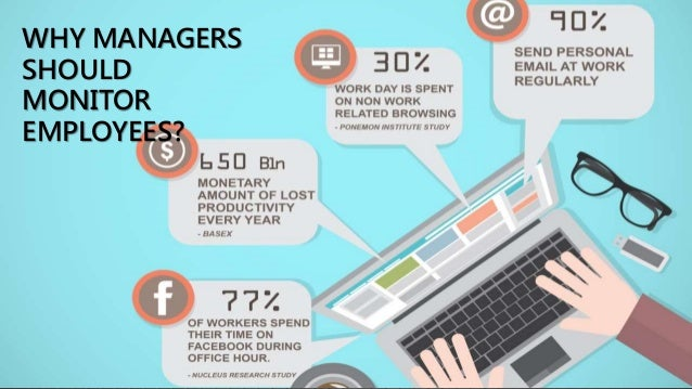 should employers monitor internet usage essay Most employers are able to access and track anything you do on a company  computer  or enter personal passwords on any workplace owned internet  device  employees can be responsible with their social media use by.