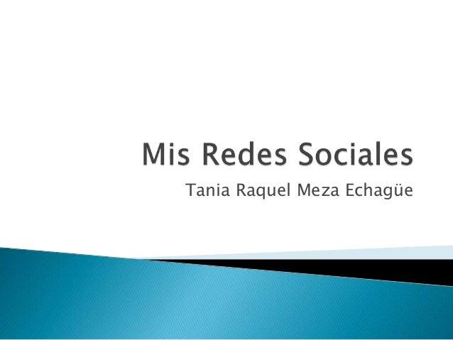 Tania Raquel Meza Echagüe
