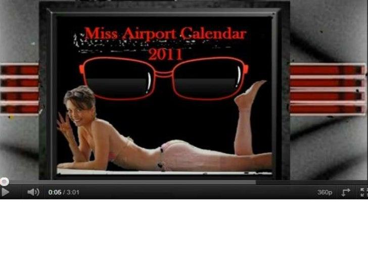 Miss Airport Calendar 2011