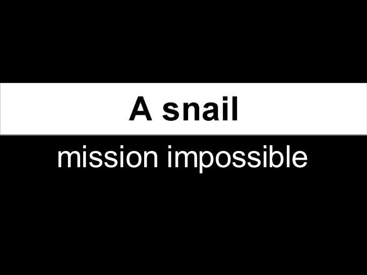מצגת - משימה בלתי אפשרית