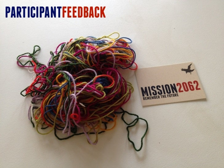 Mission2062 participant feedback