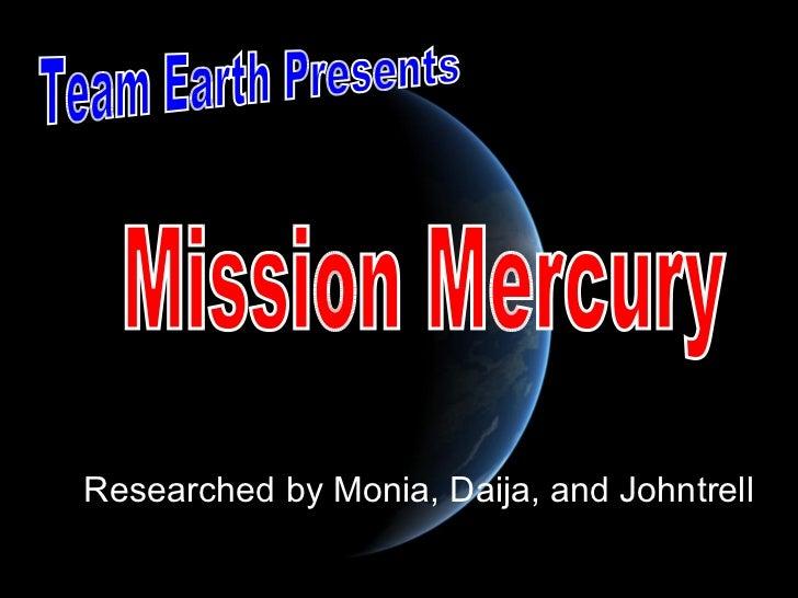 Mission mercury