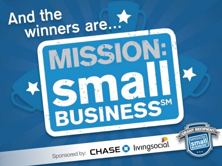 Mission Small Business - @chase