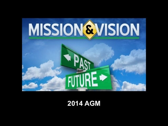 New City Church's Mission & Vision AGM 2014