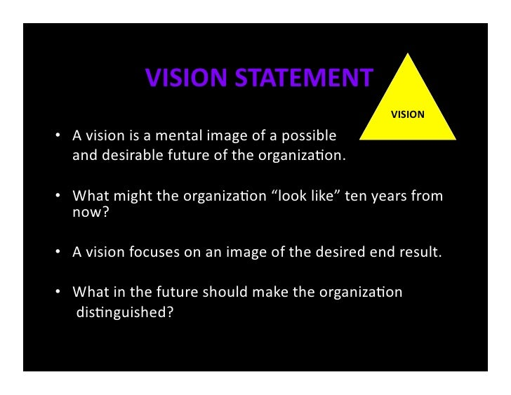 goals and vision essay Free essay: leaders must be many things they must be the pinnacle of what their workforce would want to follow leaders must be accessible by the people.