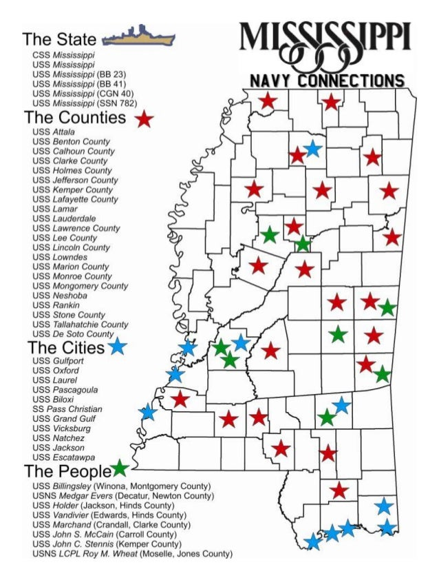Mississippi's Navy Connections