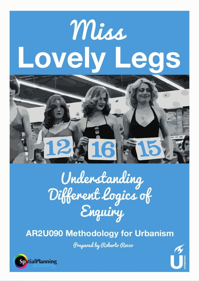 Miss lovely legs exercise: Understanding Different Logics of Enquiry