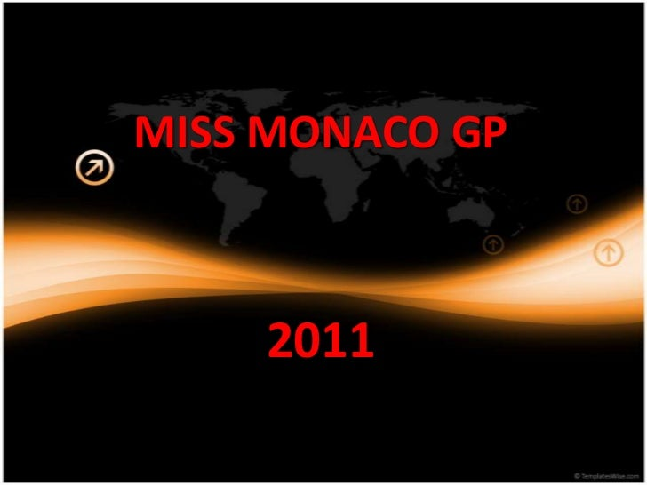 MISS MONACO GP2011<br />