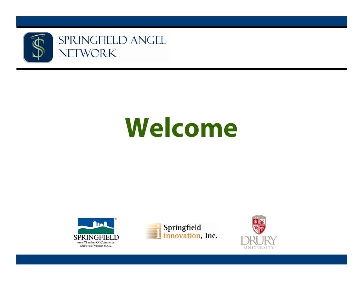 Missouri Springfield Angel Network