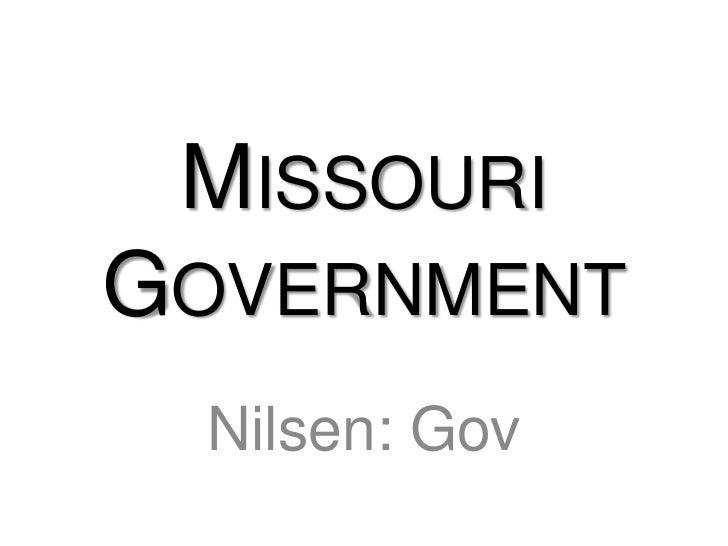 Missouri Government