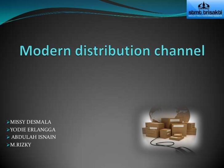 postmodern distribution channel