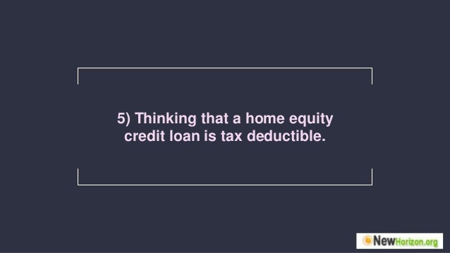 Home Equity Line Of Credit Information