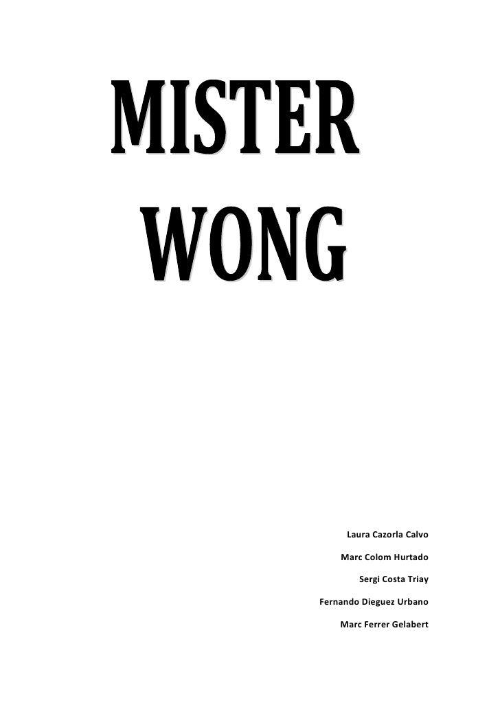 Misterwong