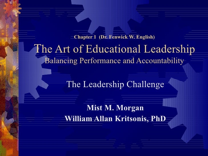Misty Morgan Ppt (Leadership) Ch 1