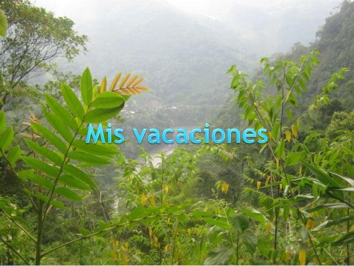 Mis vacaciones[1]