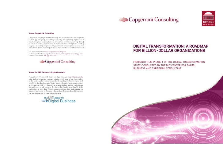Mit digital transformation a roadmap for billion $ companies 2011