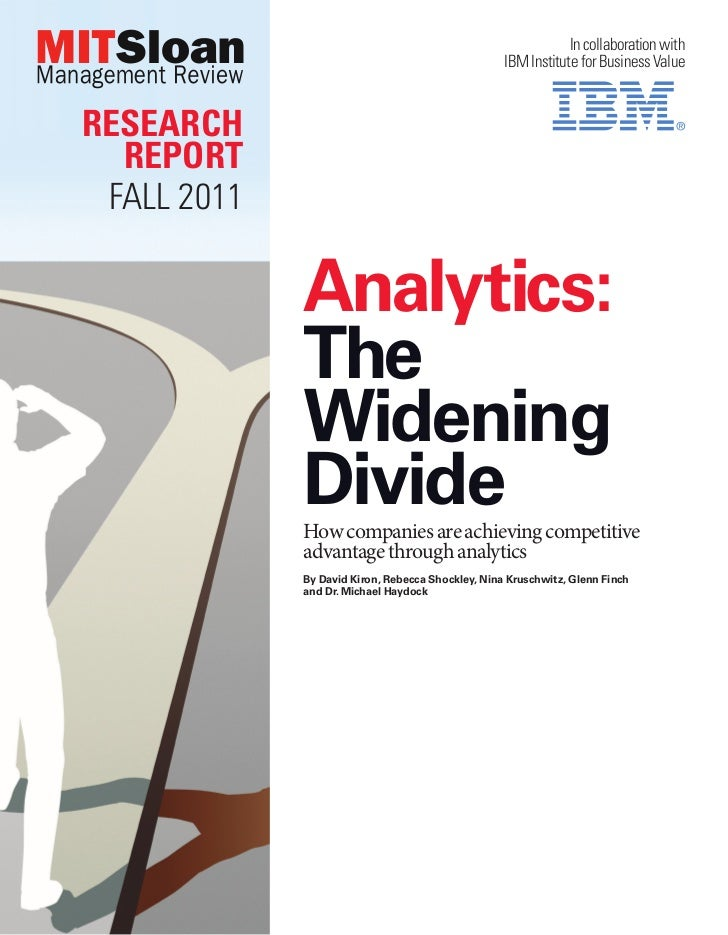 Analytics: The widening divide
