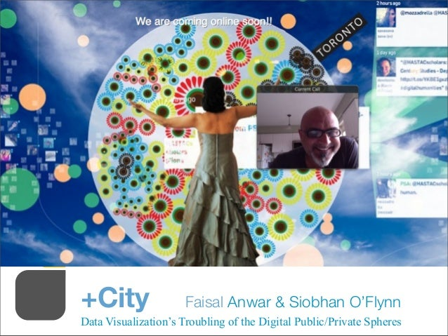 +City Faisal Anwar & Siobhan O'FlynnData Visualization's Troubling of the Digital Public/Private Spheres