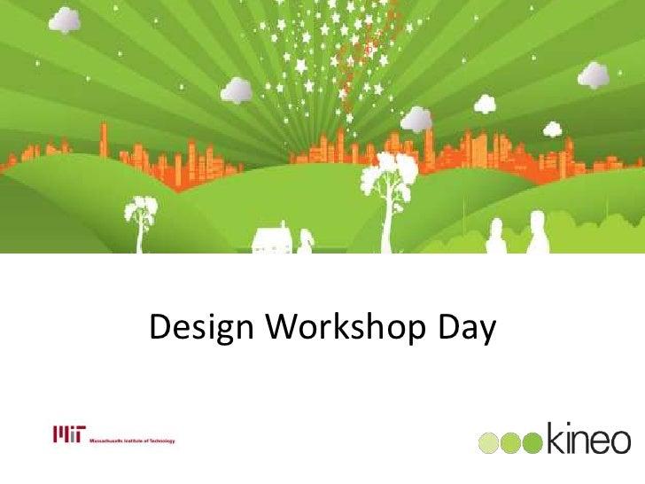 Mit elearning design workshop day