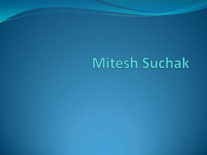 MiteshSuchak<br />