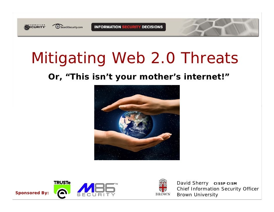 Mitigating Web 2.0  Threats