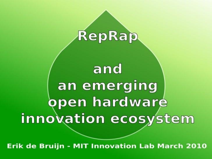 Mit Innovation Lab March 2010