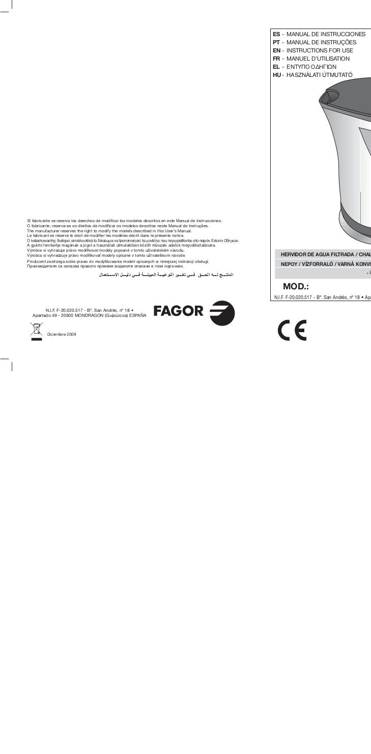 Mi tk 600 11id servicio tecnico fagor for Servicio tecnico fagor granada