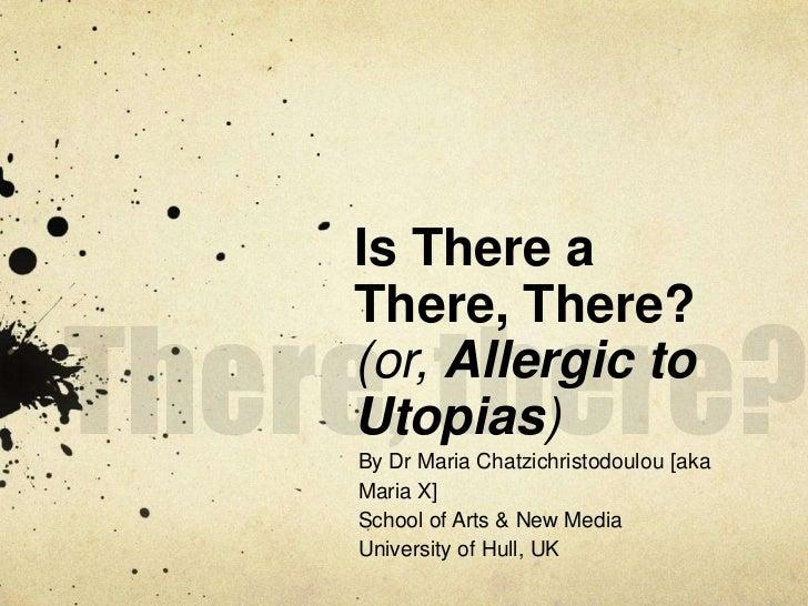 Maria X MIT presentation slides