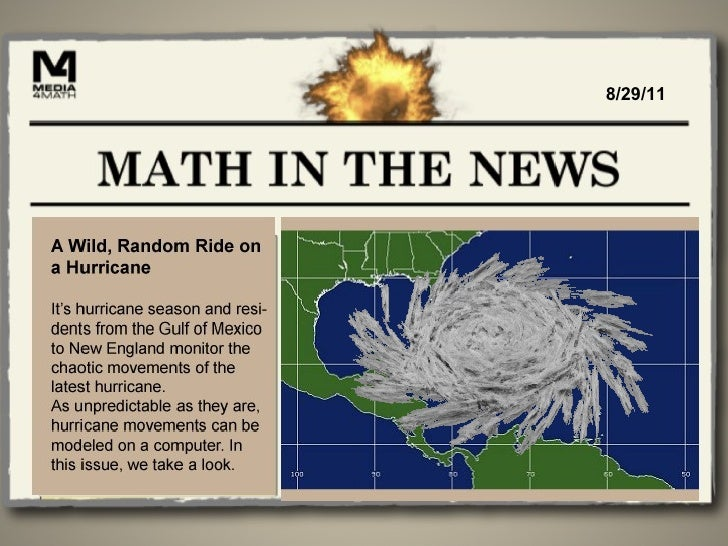 Math in the News: 8/29/11