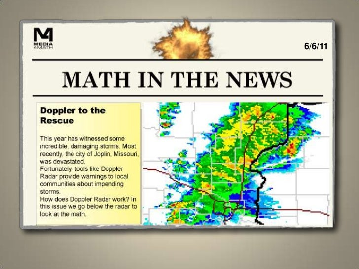 Math in the News: 6/6/11