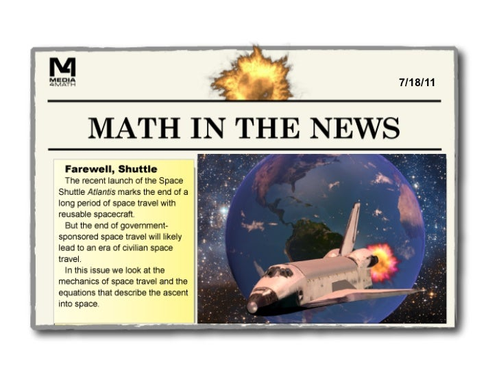 Math in the News: 7/18/11