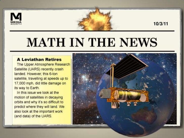 Math in the News: 10/3/11